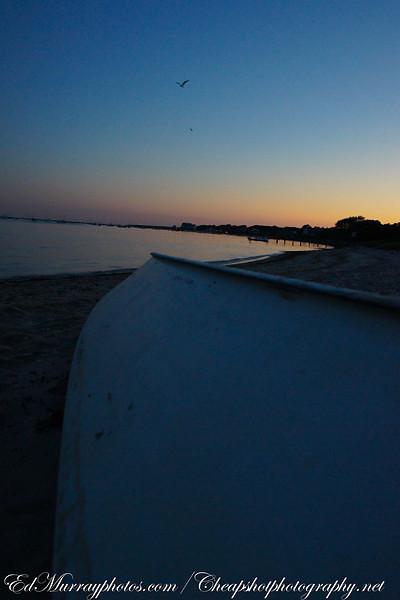 Sunset at the Sea Street Beach
