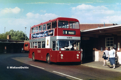 Derby Bus Station, 25-07-1989