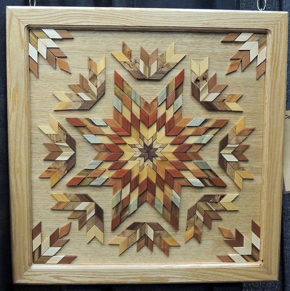 New Zealand Wood by Ken Morrow, Colorado Quilting Council on Parade