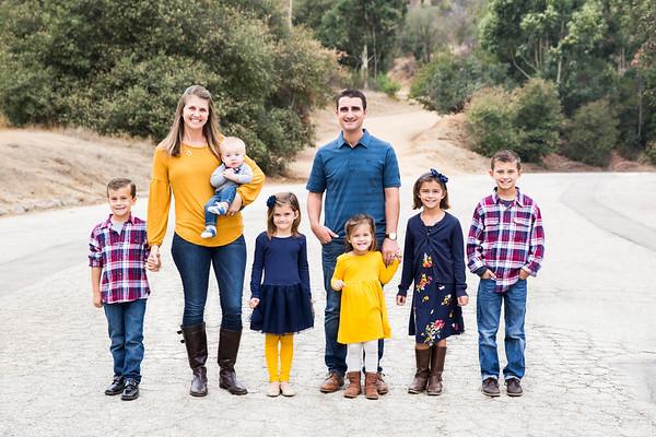 Sweeney Family 2018