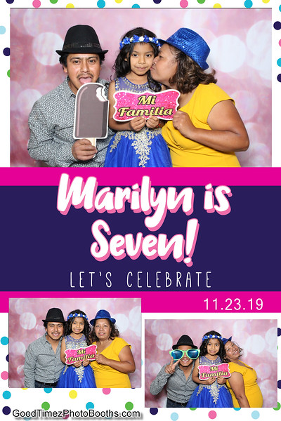 Marilyn's 7th Birthday
