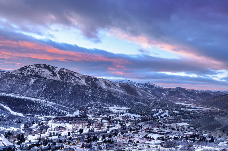 Park City Northwest Sunset 2 view