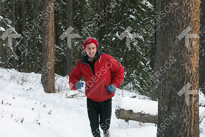 GRIZZLY  Winter Triathlon Run