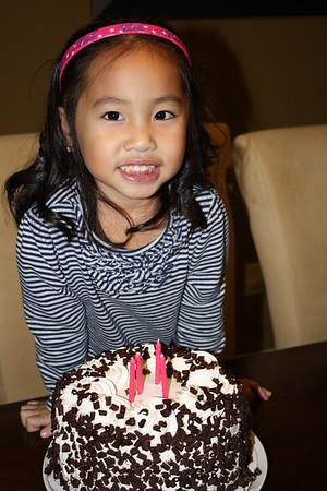 Kaylee Turns 4 12/2010