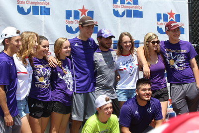 Center Rider Tennis Trio advance to 4A State UIL Championships