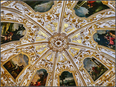 Sassuolo Ducal Palace interior (Modena)