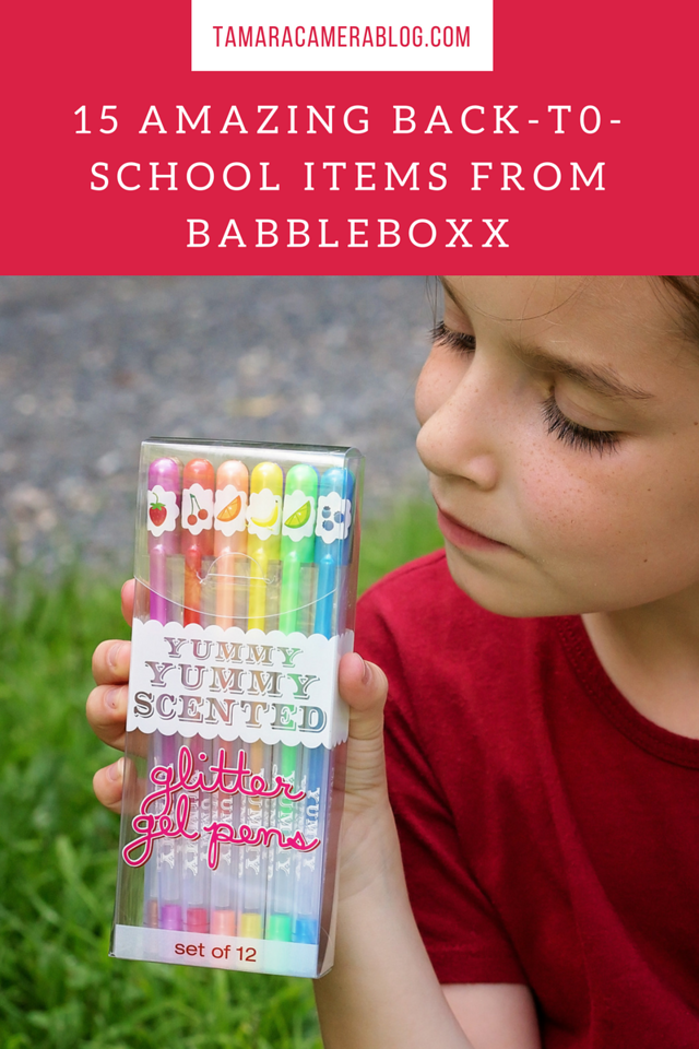 Do you want to know the BEST 15 items for #backtoschool this year? 3rd grader, Scarlet, helps highlight all of the school supplies and products she's loving now #ad #BTSBabbleboxx