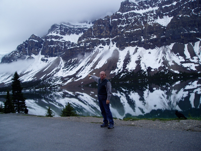 There are many lakes in Banff National Park.