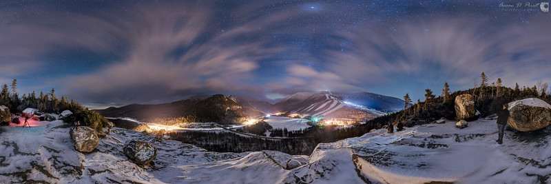 Artist's Bluff, Franconia Notch, New Hampshire