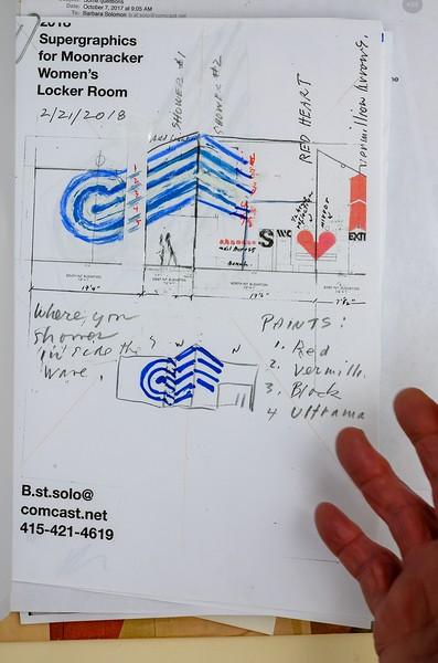 Barbara Stauffacher Solomon - Design Work on Paper