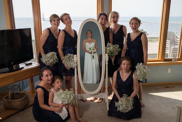 Harbor Lights Resort and Elberta Life Saving Station Wedding Photography