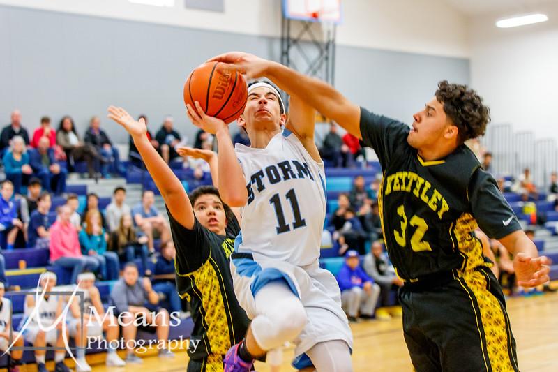 RMS Boys Basketball vs Keithley 3.24.16