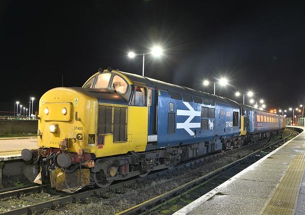 Anglia Class 37s. 23/01/19 - 26/01/19.