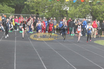 UP Girls' 100 Meter Dash - 2015 MHSAA TF Finals