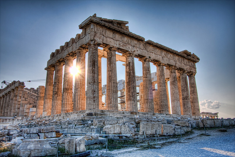 The Parthenon. Athens, Greece (HDR)