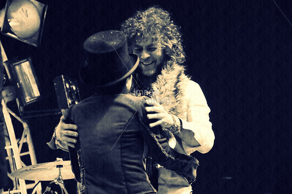 Yoko Ono & Wayne Coyne ,New Years Eve Freakout 5, Dec. 31,2011. Oklahoma City, Oklahoma.
