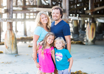 San Diego Family Portraits in Pacific Beach - Piehl Fall 2018