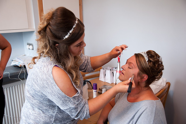 Bridal Preparation - Donna & Ian
