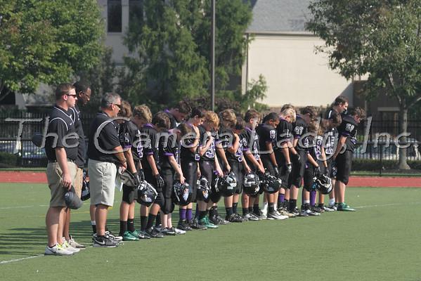 CHCA 2012 MS 7th Gr Football vs CCS 09.12
