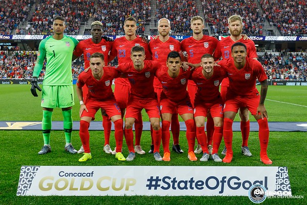 USA vs Guyana - Gold Cup 2019