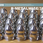 SKU: P-METALWISE/3N20L, Pack of 20 60A Fine Cut Nozzle MetalWise Mach-Three 130A Plasma Air-Cooling Mechanized Torch