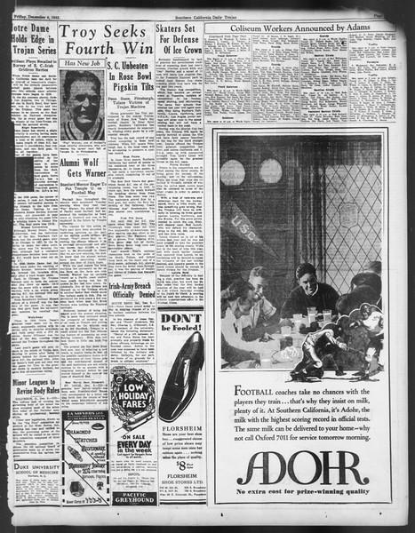 Daily Trojan, Vol. 24, No. 62, December 09, 1932