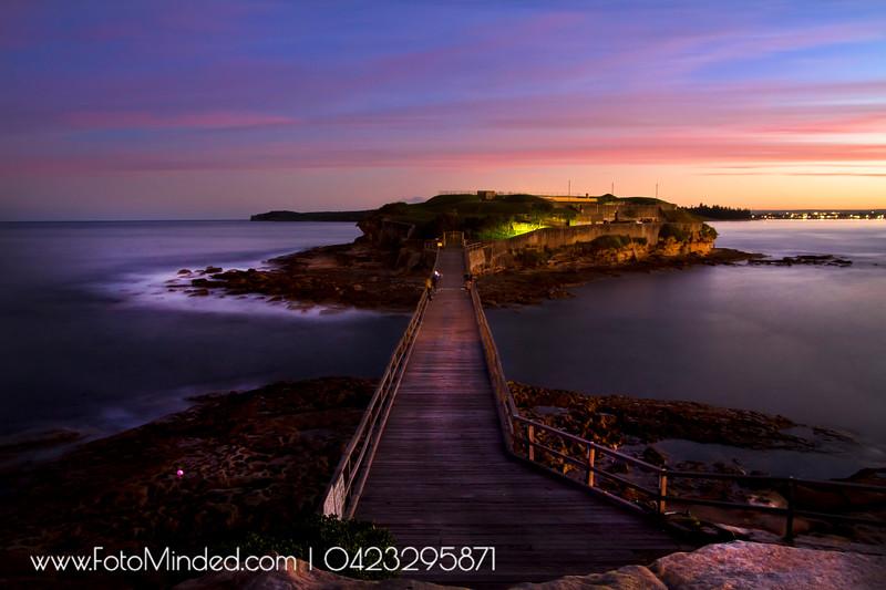 Bare Island Fort, La Perouse, NSW, Australia