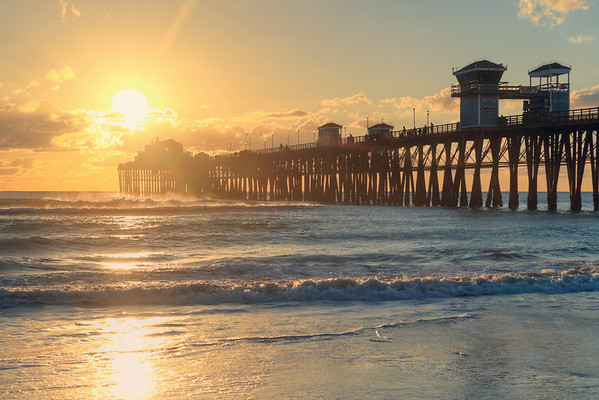 Oceanside Pier Sunset