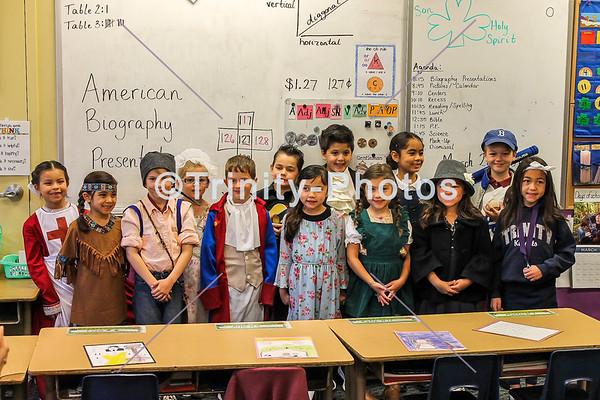 20180328 - 1st Grade - American Biographies