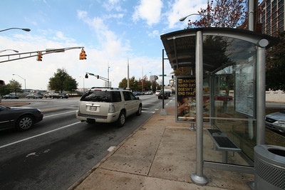 Bus Stop - Capital Ave