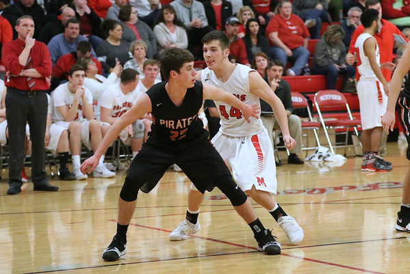 11 Boys Basketball:  Wheelersburg at Minford 2018
