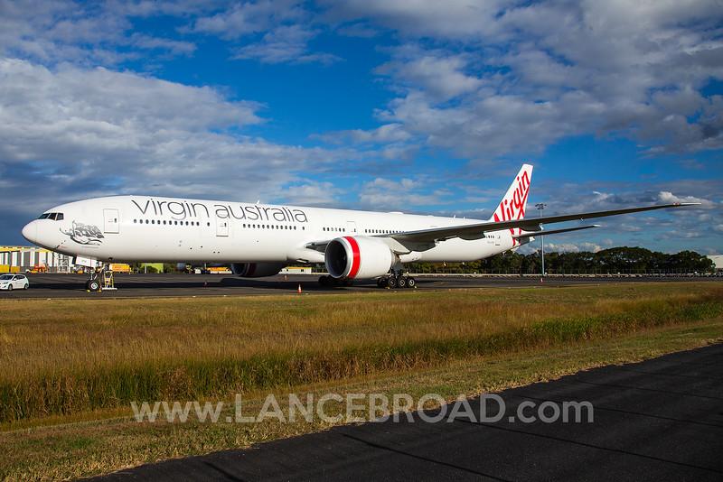 Virgin Australia 777-300ER - VH-VPH - BNE