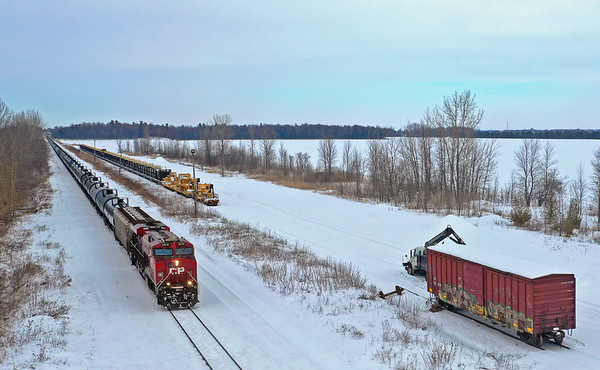 Canadian Pacific 650, Lacolle, Quebec, January 22 2020.