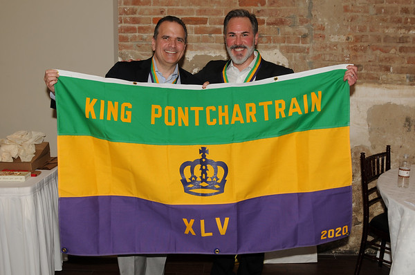 Krewe of Ponchartrain 2020 King's Lunch