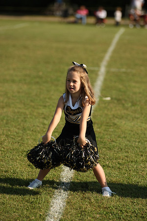 9-22-12 Cheerleaders Pre Pee Wee Vs Ray Childers