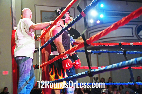 Bout #15:  Chris Walsh (Red Gloves), Independent  vs  Hector Rojas (Blue Gloves), Independent, Heavy Wt., Sub-Novice