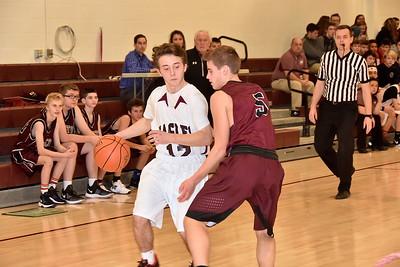 AMHS Boys JV Basketball vs Proctor photos by Gary Baker