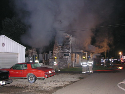 09-07-08 Walhonding Valley FD House Fire