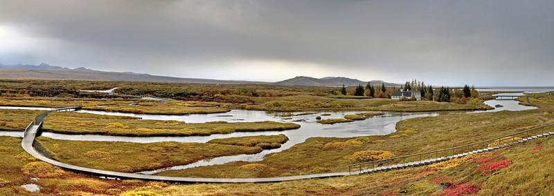 Thingvellir national park, UNESCO heritage site