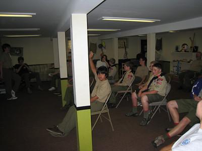 Troop Meeting - Jul 16