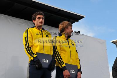 Men Awards - 2012 Big Ten XC Championships