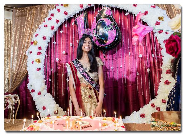 Ananya's Sweet 16 Party 2019