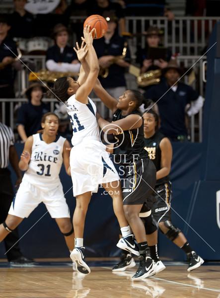 2012-01-22 Basketball NCAA Women Southern Miss @ Rice
