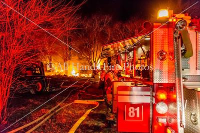 20180213 - Unincorporated Watertown - Trailer Fire