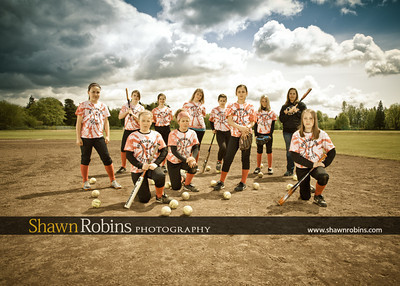 Blaine Softball 2012, Team Pictures - Circa