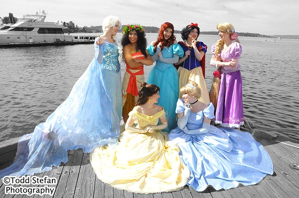 Color Removal - Seattle Princesses