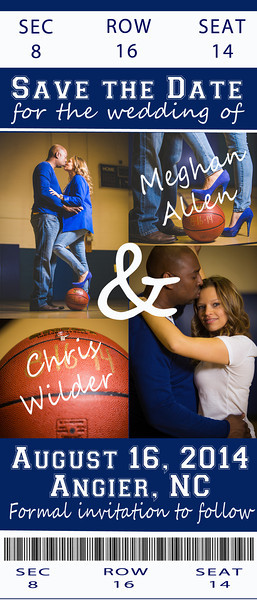 Megan & Chris (Save The Dates)