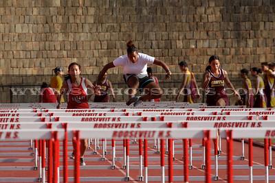 Girls 100m Hurdles 031310