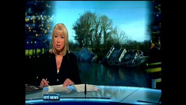 2011-01-04 Arthur makes the RTE News