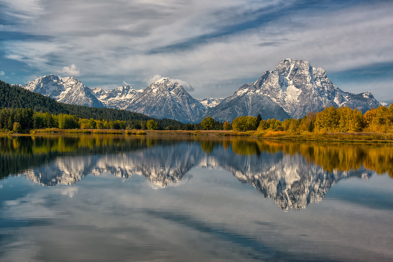 Oxbow Bend Reflexions